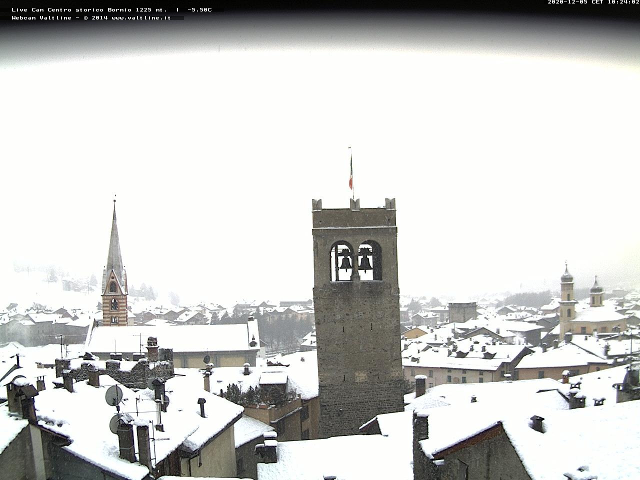 Webcam en Bormio, Bormio (Alpes Italianos)