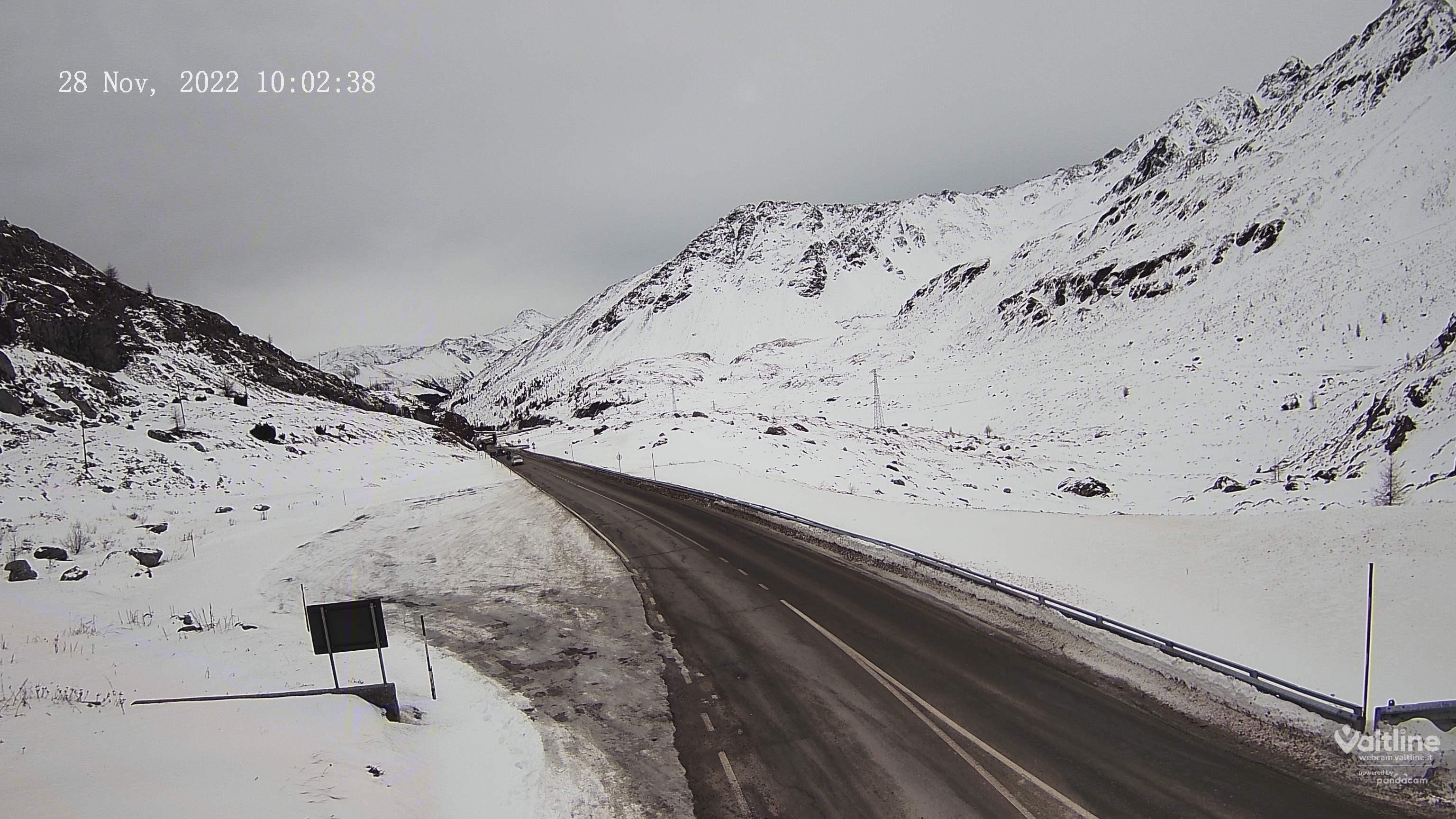 Webcam Passo Foscagno Livigno 2291m