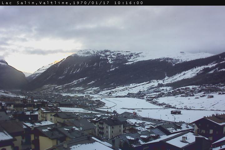 Webcam Livigno panorama Hotel Lac Salin