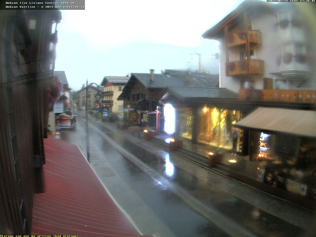 Webcam centro Livigno