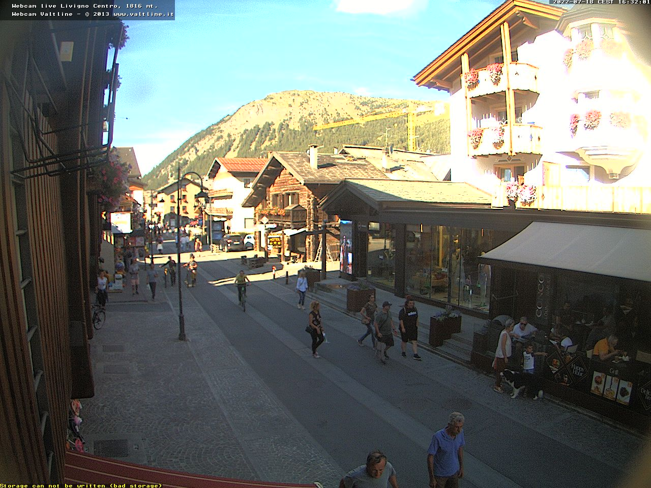 Webcam a Livigno (SO)
